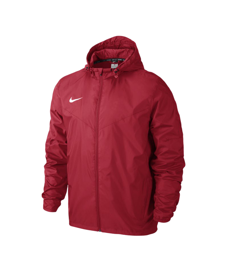 Nike Team Sideline Rain Jacket Regenjacke F657 - rot