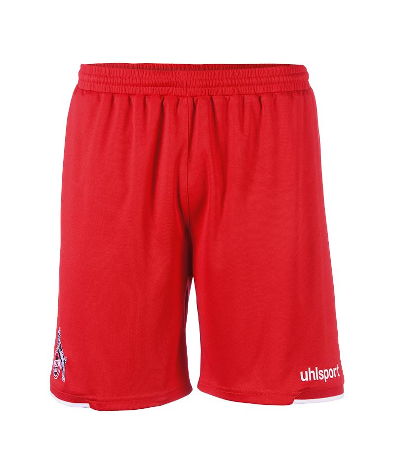 Uhlsport 1. FC Köln Short Away 2018/2019 Kids Rot - rot
