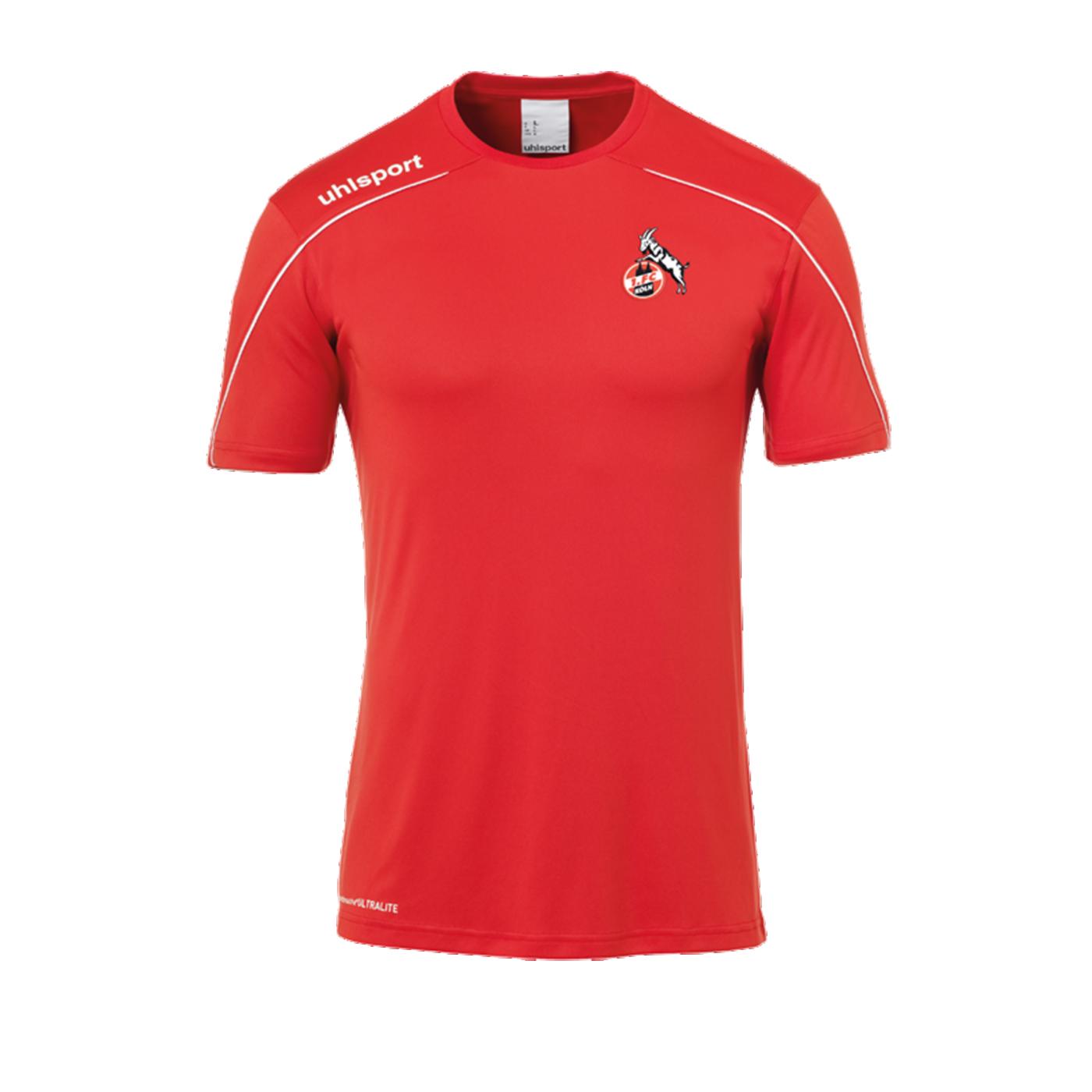 Uhlsport 1. FC Köln Stream 22 Trainingsshirt Rot - rot