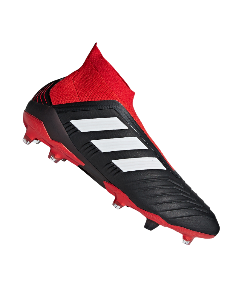 adidas Predator 18+ FG Schwarz Rot