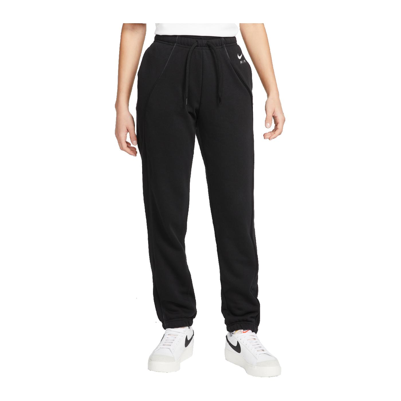 Nike Air Fleece Jogginghose Damen Schwarz F010