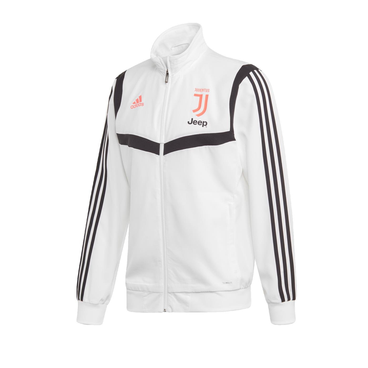adidas Juventus Turin Präsentationsjacke Weiss - Weiss