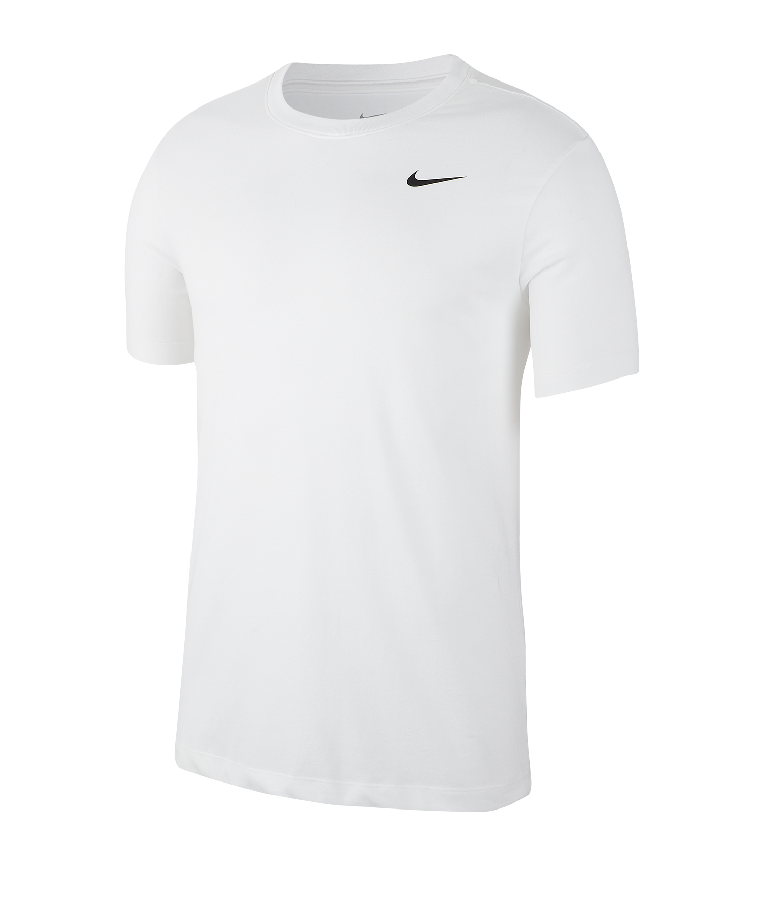 nike trainingstop t-shirt weiss f100   kurzarm