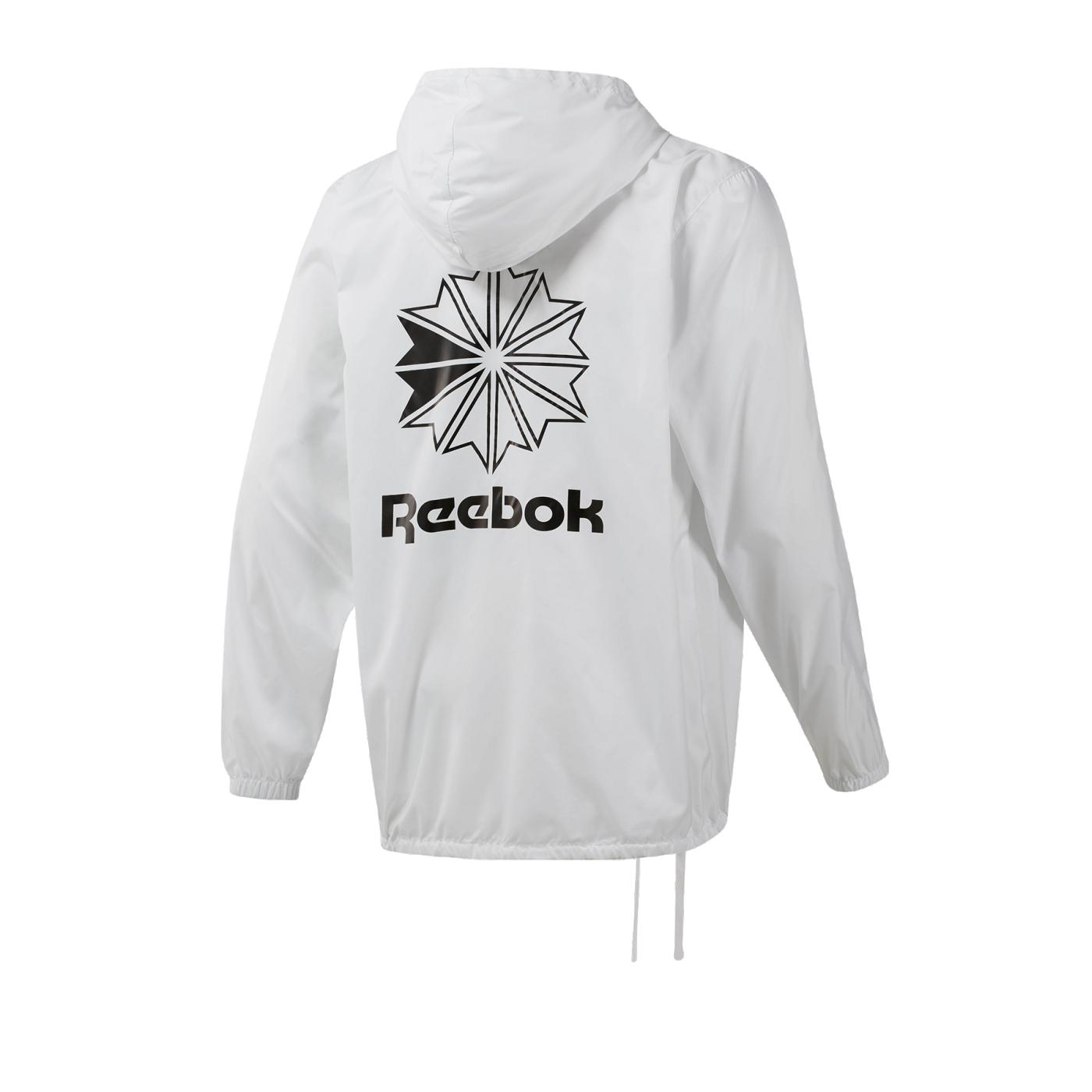 Reebok Classics Windbreaker Schwarz | Reebok Austria
