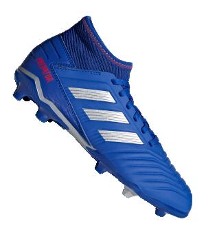 adidas 19.3 FG Sohle Junior Kinderschuhe Fußballschuhe Predator CM8533 blau