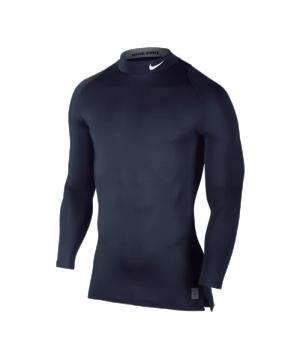 nike-pro-cool-compression-ls-mock-unterziehtop-langarmshirt-stehkragen-underwear-funktionswaesche-men-blau-f451-703090.png