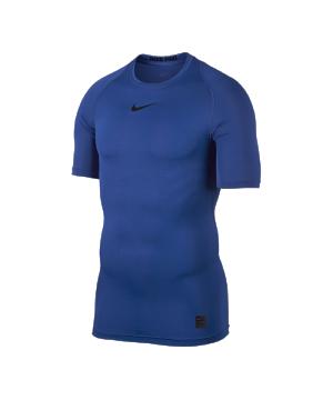 nike-pro-cool-compression-shortsleeve-shirt-kurzarm-unterziehshirt-underwear-funktionswaesche-men-blau-f480-703094.png