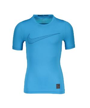 nike-pro-compression-t-shirt-kids-blau-f474-underwear-kinder-children-tee-858233.png