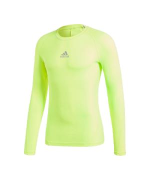 adidas-alphaskin-sport-shirt-longsleeve-gelb-underwear-sportkleidung-funktionsunterwaesche-equipment-ausstattung-cw9509.png
