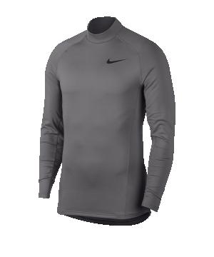 nike-pro-trainingsweatshirt-grau-f036-underwear-langarm-929731.png