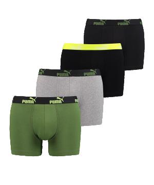 puma-basic-number1-boxer-4er-pack-gruen-f315-underwear-bekleidung-bequem-unterwaesche-691032001.png