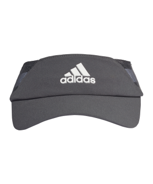 adidas-aeroready-tennis-visor-cap-schwarz-fk0862-laufbekleidung_front.png