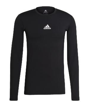 adidas-techfit-shirt-langarm-schwarz-gu7339-underwear_front.png