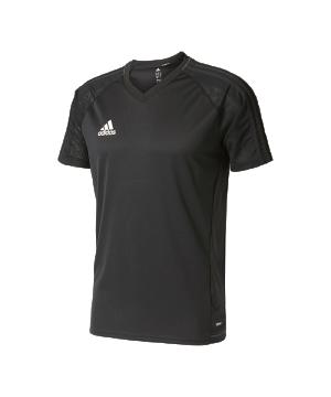 adidas-tiro-17-trainingsshirt-schwarz-fussball-teamsport-ausstattung-mannschaft-ay2858.png