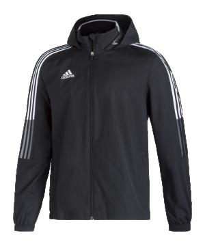 adidas-tiro-21-allwetter-kapuzenjacke-schwarz-gh4466-teamsport_front.png