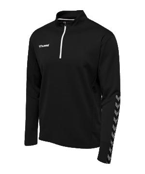hummel-authentic-1-2-zip-sweatshirt-schwarz-f2114-204927-teamsport_front.png