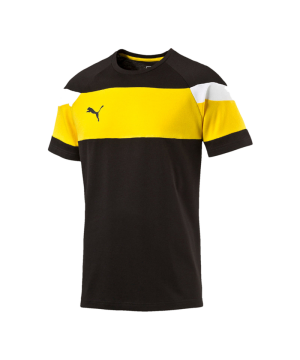 puma-spirit-2-leisure-t-shirt-kurzarmshirt-teamsport-men-herren-schwarz-gelb-f37-654659.png