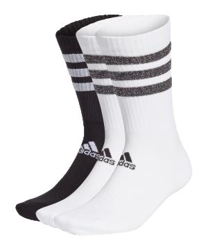 adidas-3s-glam-crew-socken-weiss-schwarz-gp3543-fussballtextilien_front.png