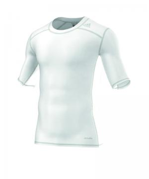 adidas-tech-fit-base-tee-kurzarmshirt-unterwaesche-funktionswaesche-men-herren-weiss-aj4967.png
