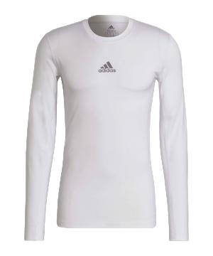 adidas-techfit-shirt-langarm-weiss-gu7334-underwear_front.png