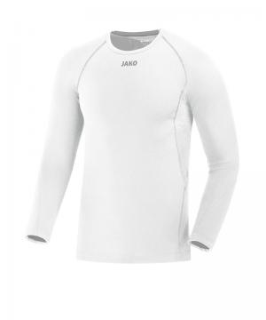 Jako Longsleeve Comfort Shirt Kids Weiss F00