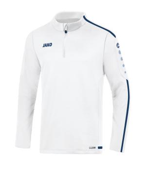 jako-striker-2-0-ziptop-kids-weiss-blau-f90-fussball-teamsport-textil-sweatshirts-8619.png