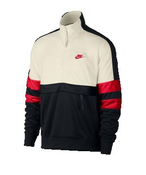 nike-air-sweatshirt-1-4-zip-beige-schwarz-rot-f134-lifestyle-textilien-sweatshirts-ar1839.png