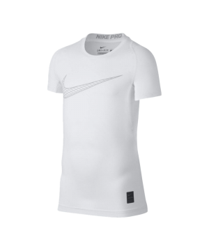 nike-pro-compression-t-shirt-kids-weiss-f100-underwear-kinder-children-tee-858233.png