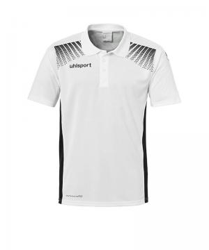 uhlsport-goal-poloshirt-kids-weiss-schwarz-f02-polo-polohemd-kinder-shortsleeve-klassiker-sport-1002144.png